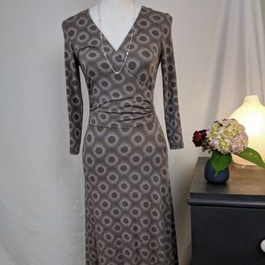 Boden Fitted Dress US 4